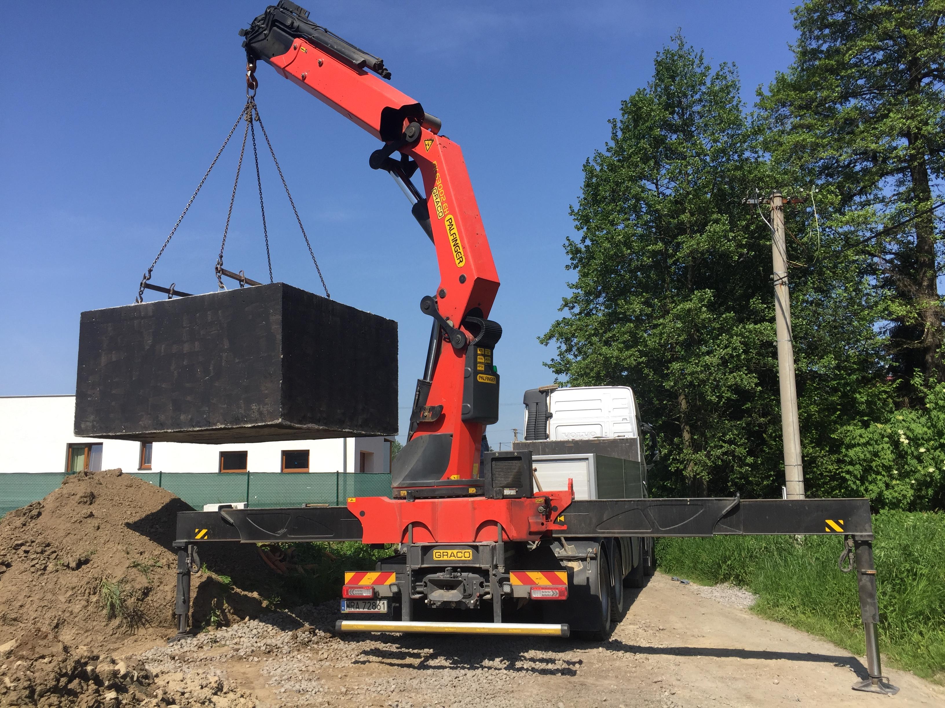 Levná betonová žumpa